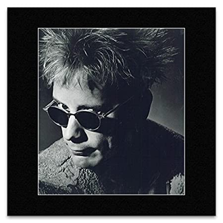 JOHN LYDON - Sunglasses Matted Mini Poster - 19.4x17.2cm