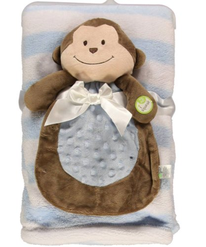 Baby Boy Blanket and Teddy Nunu - 1