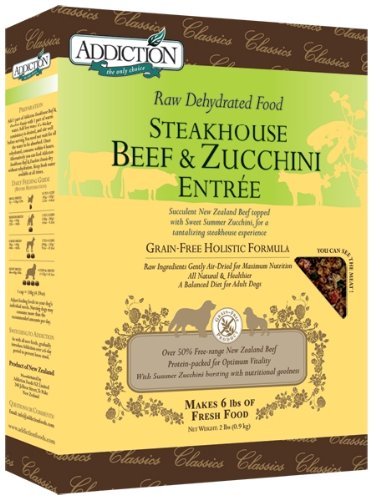 Dog Supplies Dehydrated Steakhouse Beef & Zucchini Entree
