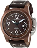 ANDROID Men's AD614BBN Skyguardian Analog Japanese-Automatic Brown Watch