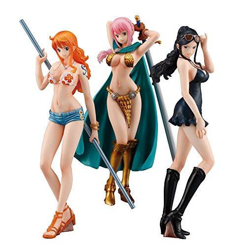 ONE PIECE STYLING ~Girls Selection~ 3個入 食玩・ガム (ONE PIECE)