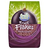 Fruitbowl Blackcurrant Fruit Flakes Multi-Packs 20 g (Pack of 6, Total 30 Bags)