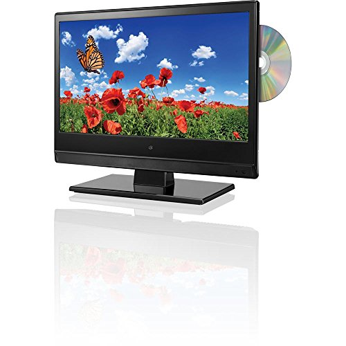 """13"""" Led Tv With Built In Dvd Player"""
