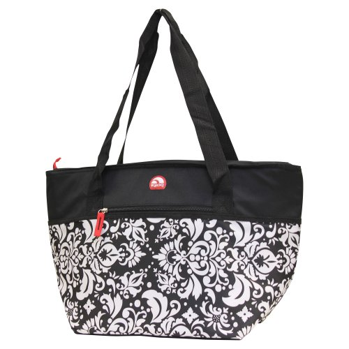 Igloo Insulated Shopper Cooler Tote Bag - Black front-510311