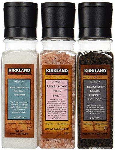 Kirkland Signature 2 Salts and a Pepper (Kirkland Salt compare prices)