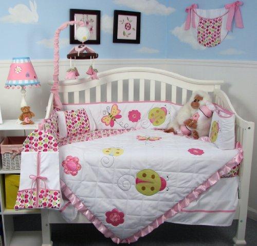 Nursery Bedding For Girls 5032 front