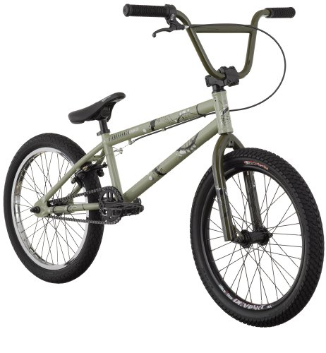 Diamondback Accomplice BMX Bike (20-Inch Wheels), Cream Green, 20-Inch