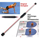 "Original Swingbar Schwungstab Swingstick rot inkl. �bungspostervon ""Swingbar"""
