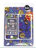 A BATHING APE A BATHING APE (ア・ベイシング・エイプ) BAPE×Gizmobies (ギズモビーズ) iPhone 4 着せ替えプロテクター MILO COSMOS (マイロコスモス)