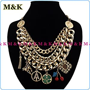 Statement Necklace Pendants For Jewelry Making, Women Dress: Jewelry