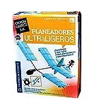 Kit de construccion de Planeadores Ultraligeros. Construye hasta 5 aviones diferentes y haz que vuelen. Edicion en Castellano