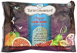 Torie and Howard Organic Hard Candy Halloween, Four Assorted Flavors, 10 Ounce