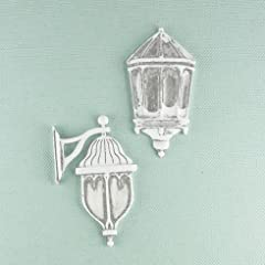 Shabby Chic Metal Treasures-Outdoor Wall Lamps 2/Pkg 1 To 2