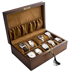 Sewing Craft Ideas Sell on Amazon Com  Vintage Wood Watch Box Display Storage Case Chest With