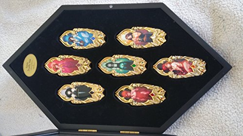 Seven Deadly Sins Collector's Knives in Display Case