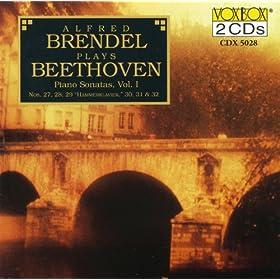 Beethoven: Piano Sonatas, Vol. 1 (Nos. 27-32) (Brendel)
