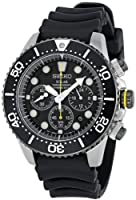 Seiko Men's SSC021 Solar Diver Chronograph Watch by Seiko
