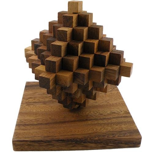 51NI27OovbL Cheap  Ladder Wooden Brain Teaser Puzzle