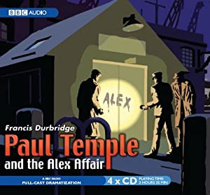 Paul temple and the alex affair radio collection amazon for Alex co amazon
