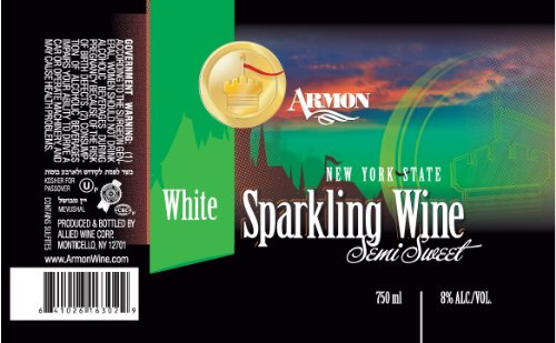 Armon NV  New York White Sparkling 750 mL