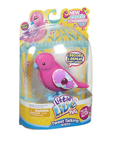 little-live-pets-28232-tweet-talking-birds-single-pack