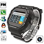 Asmart center® Gd930 Sports Watch Mobile Phone with Camera Touch Screen Mobile Phone Single SIM Card Bluetooth / Fm / MSN / Qq GSM Network Dual Band (Black)