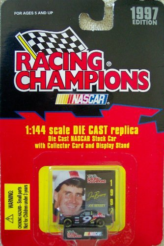1997 Edition Racing Champions Joe Bessey #9 1:144 Scale Replica Die Cast Replica w/Collector Card and Display Stand - 1