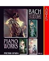 Busoni / Bach: Complete Transcriptions for Piano Vol. 2