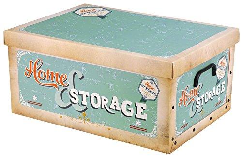Aufbewahrungsbox-51x37x24cm-Vintage-Retro-Pastellfarben-HomeStorage-blau
