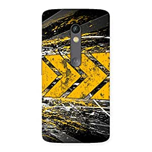 Special Forward Abstract Back Case Cover for Moto X Play