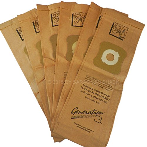 6 Genuine Kirby Vacuum Cleaner Bags G3 G4 G5 G6 G7 Sentria Ultimate Diamond Bag (Bissel Hose Extension compare prices)