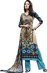 Latest Pure Cotton Embroidered Suit With Pure Dupatta