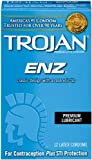 Trojan Condom ENZ Lubricated, 12 Count