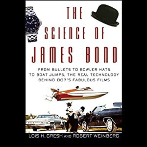 The Science of James Bond Audiobook