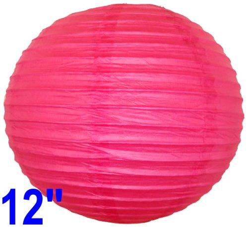 Magenta Pink Chinese/Japanese Paper Lantern/Lamp 12