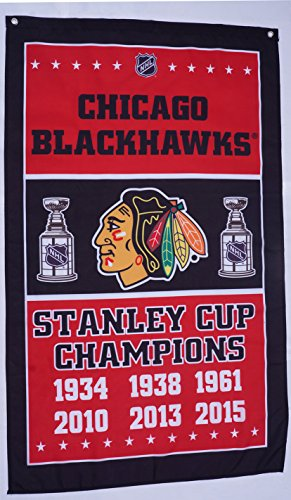 chicago blackhawks flag,NHL Stanley Cup champions, chicago blackhawks vertical banner,--polyster flags,Brass Grommets ,Anti-UV,Digital Printing, -- flags 3 X 5 Ft