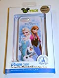 NEW Disney D-tech World WDW Parks Authentic 2014 Frozen Olaf Elsa Anna Iphone 5 5s Phone Hard Case & Screen Guard Cleaning Cloth & Bonus Disney Dumbo Dollar