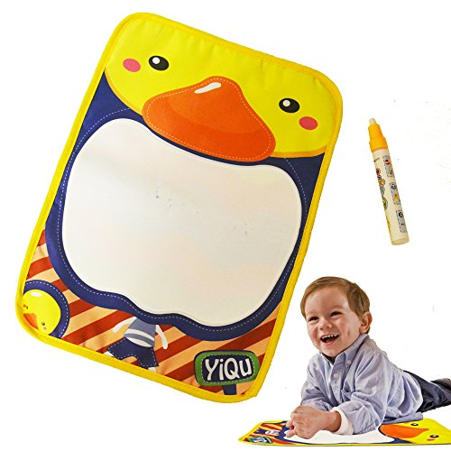 Powervibe Baby Educational Doodle Drawing Mat with Magic Water Pen