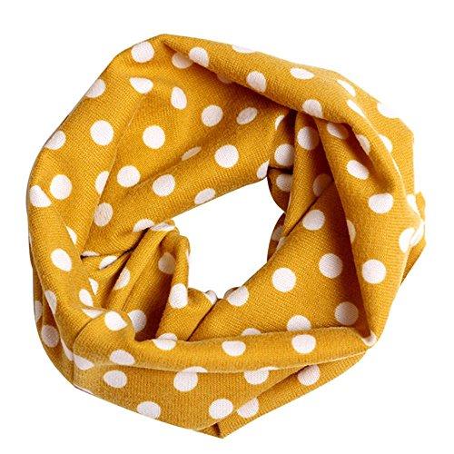 Sunward-Colorful-Kids-Baby-Boys-Girls-Winter-Warm-Cotton-Scarf-Shawl-Neckerchief-Yellow