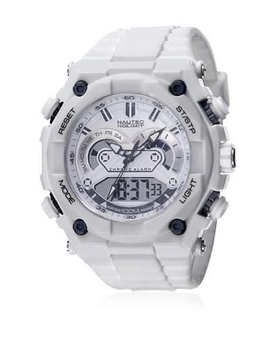 Nautec No Limit Reloj Sw Qz-Ad/Pcwhpcwhwh-Bk Blanco 48 mm
