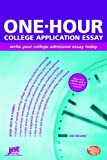 img - for One-Hour College Application Essay: Write Your College Admission Essay Today book / textbook / text book
