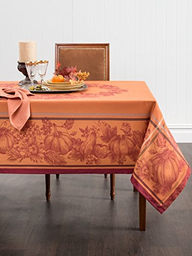 Harvest Royalty Jacquard Tablecloth