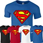 Superman Mens Boys Womens Ladies Girl...