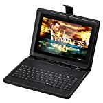 Tagital (TM) 7″ Android 4.0 4GB MID Capacitive Touch Screen A13 Tablet WiFi 3G Bundle Keyboard Black