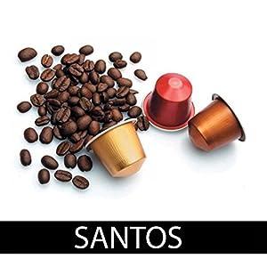 Choose cialdissima.it 100 CAPSULES NESPRESSO COFFEE! 100% COMPATIBLE! ITALIAN ESPRESSO! TASTE SANTOS! by cialdissima.it