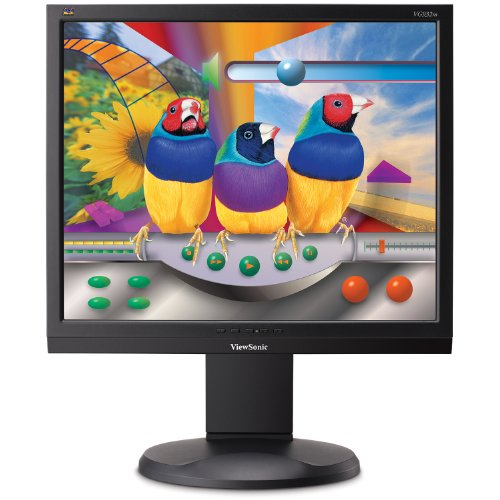 ViewSonic VG932M 19-Inch LCD Monitor with Height Adjust, Speakers, Digital Input and Energy Star 5.0 (Black)