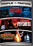 Psycho II / Psycho III / Psycho IV: The Beginning (Triple Feature) (Bilingual)