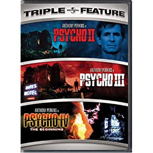 Click to buy Scariest Movies of All Time: Psycho II / Psycho III / Psycho IV - The Beginning from Amazon!