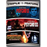 Psycho II / Psycho III / Psycho IV - The Beginning (Triple Feature) ~ Anthony Perkins