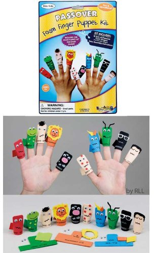 10 Plagues Finger Puppet Kit - 1
